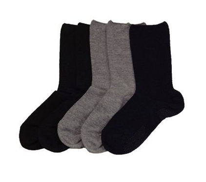靴下滑り止め付き5足組紳士用