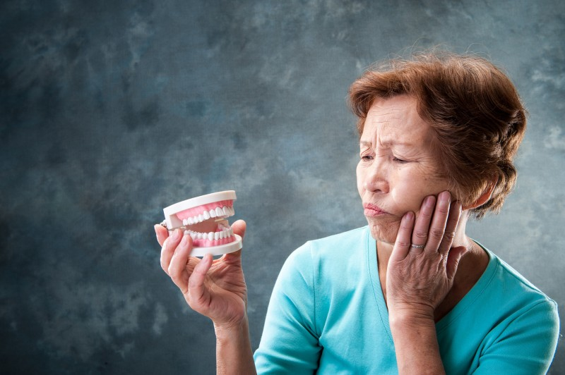 高齢者の歯磨き