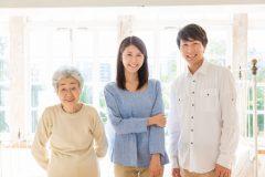 高齢者と同居