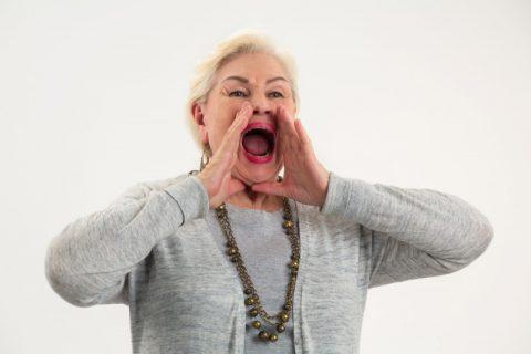 高齢者のシニア体験